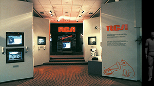 RCA booth for Expo 86