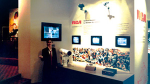 RCA Booth for World Business Showcase